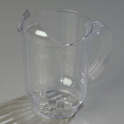 554407 Carlisle - VersaPour Window Pitcher 60 oz.