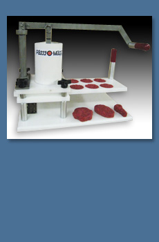 Patty-O-Matic Eazy Slider Manual Commercial Food Portioning & Forming Machine