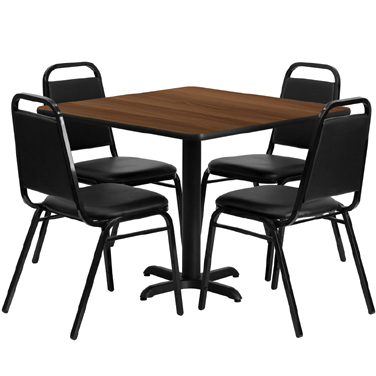 HDBF1012 Flash Furniture - HDBF1012-GG Table & Chair Set (1) square 36