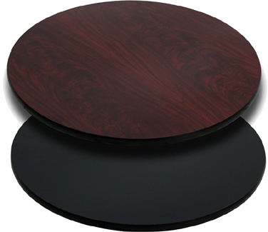 T24RMB Flash Furniture - XU-RD-24-MBT-GG Reversible Table Top round 24
