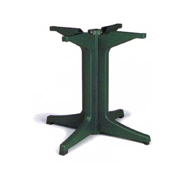 US624278 Grosfillex - Pedestal Base 2000 resin Amazon green