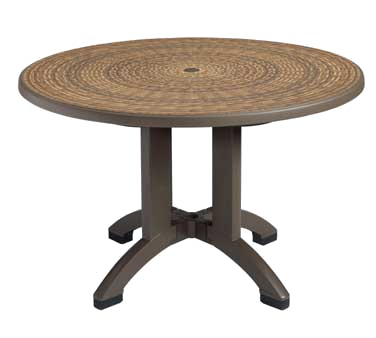 US715037 Grosfillex - Havana Outdoor Table MPC technology 48