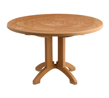 US921208 Grosfillex - Atlantis Outdoor Pedestal Table 48