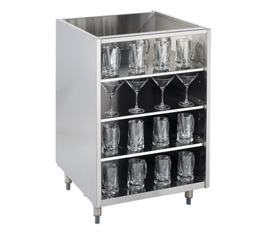 KR-G24 Krowne Metal - Royal Series Back Bar Glass Storage Cabinet