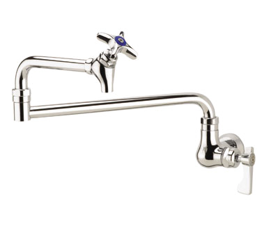 16-179L Krowne Metal - Krowne Royal Series Wall Mount Pot Filler Faucet 12