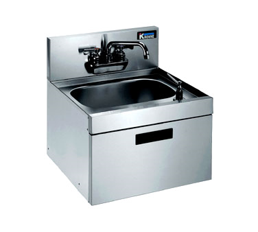 KR18-18WST Krowne Metal - Royal 1800 Series Underbar Hand Sink wall mounted