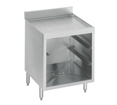 21-GSB1 Krowne Metal - Standard 2100 Series Underbar Glass Storage Unit drainboard top