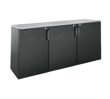 BD72 Krowne Metal - Back Bar Dry Storage Cabinet three section