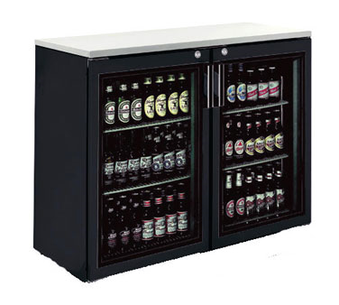 BR48L Krowne Metal - Refrigerated Back Bar Storage Cabinet two section