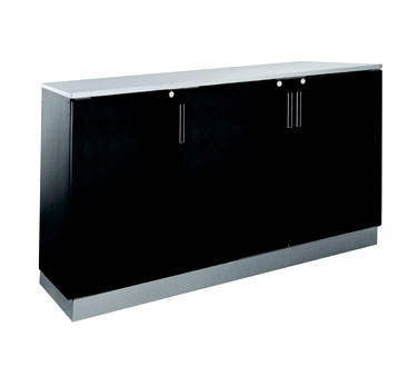 BR72R Krowne Metal - Refrigerated Back Bar Storage Cabinet three section