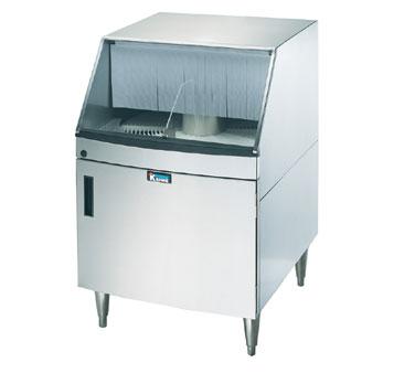 gwr 24 krowne metal underbar glasswasher rotary design - Bar Glass Washer