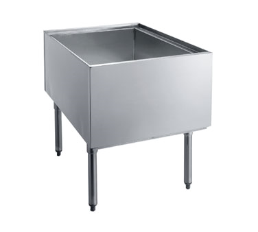 PT-2436 Krowne Metal - Standard Series Pass-Thru Ice Bin