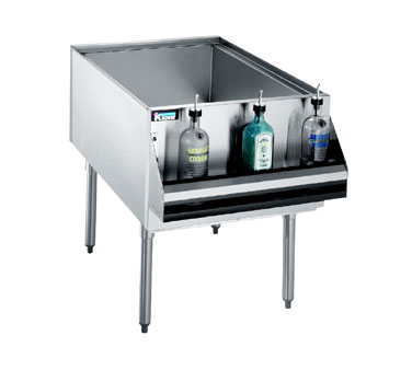 Underbar Ice Bin, Cocktail Unit, Pass-Thru