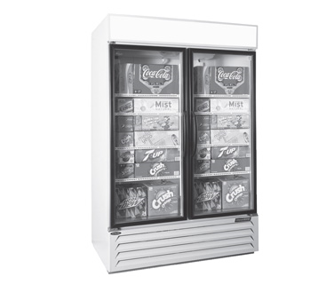 NLGRP48-HG-W Nor-Lake - AdvantEDGE Refrigerated Merchandiser 45.7 cubic feet
