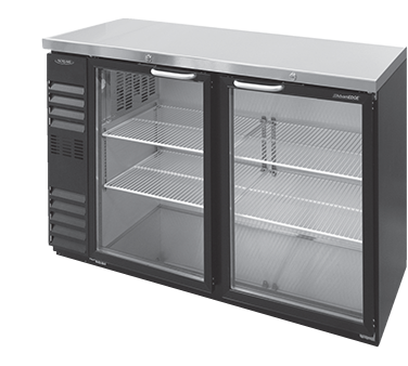 NLBB60NG Nor-Lake - AdvantEDGE Refrigerated Back Bar Storage Cabinet two-section
