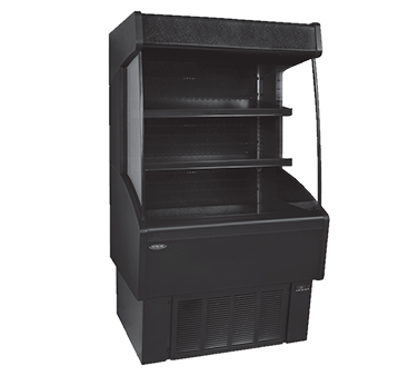 NLVOAM36-60-B Nor-Lake - Vertical Open Air Merchandiser self-contained