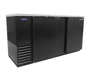 NLBB69 Nor-Lake - AdvantEDGE Refrigerated Back Bar Storage Cabinet two-section
