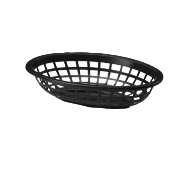 1071BK Tablecraft Products - Side Order Basket 7-3/4