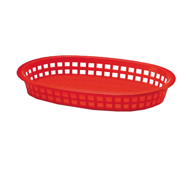 1076R Tablecraft Products - Chicago Platter Basket 10-1/2