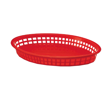 1086R Tablecraft Products - Texas Platter Basket 12-3/4