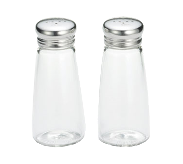 132S&P-2 Tablecraft Products - Salt/Pepper Shakers 3 oz.