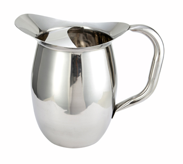 WPB-2C Winco - Deluxe Bell Pitcher with ice catcher