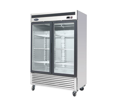 MCF8703 Atosa - Freezer Merchandiser two-section