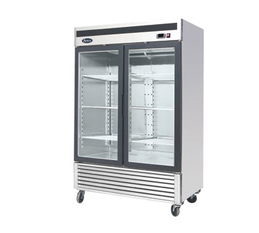 MCF8707 Atosa - Refrigerator Merchandiser two-section