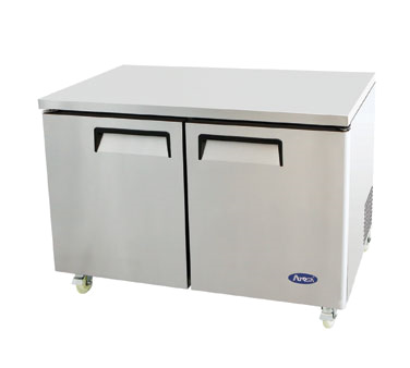 MGF8402 Atosa - Undercounter Reach-In Refrigerator two-section