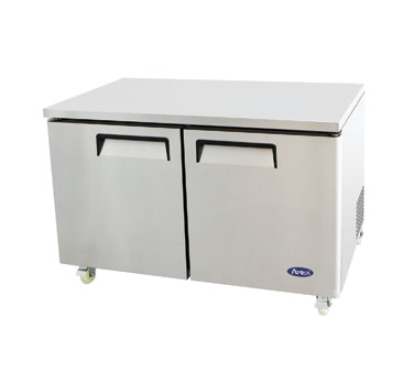 MGF8403 Atosa - Undercounter Reach-In Refrigerator two-section