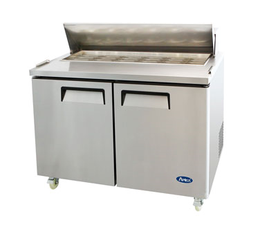 MSF8306 Atosa - Mega Top Reach-In Refrigerator two-section
