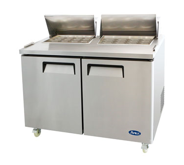 MSF8307 Atosa - Mega Top Reach-In Refrigerator two-section