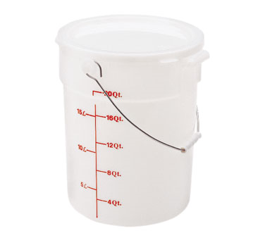 PWB22148 Cambro - PAIL WITH BAIL 22QT-WHITE