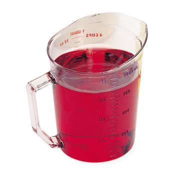 100MCCW135 Cambro - MEASURE CUP 1QT-CLRCW
