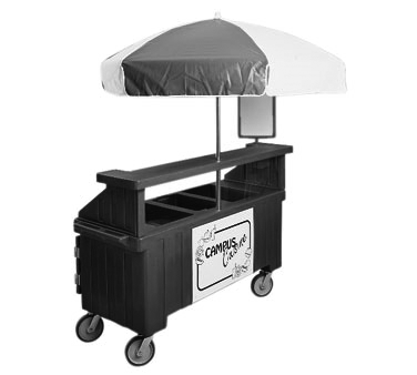 CVC72110 Cambro - CAMCRUISER 2P+1WELL-BLACK