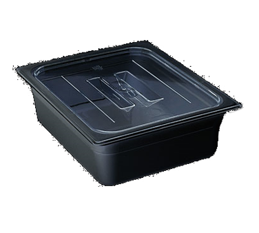 60CWCH110 Cambro - FOOD PAN LID 1/6 CW HDL-BLACK