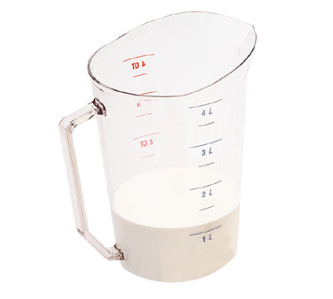 400MCCW135 Cambro - MEASURE CUP 4QT-CLRCW