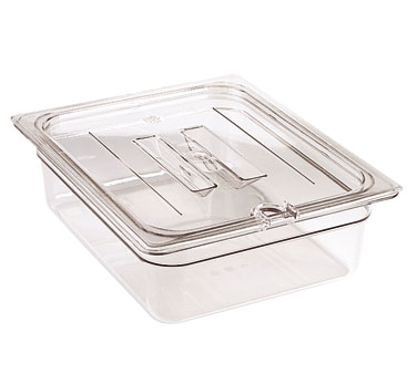 60CWCHN135 Cambro - FOOD PAN LID 1/6 CW HDLN-CLRCW