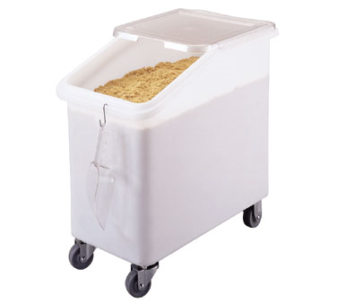 IBS27148 Cambro - INGREDIENT BIN 27GL SLNT-WHITE