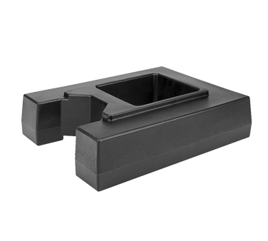R1000LCD110 Cambro - CAMTAINER RISER 1000-BLACK