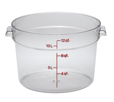 RFSCW12135 Cambro - ROUND 12QT CW-CLRCW