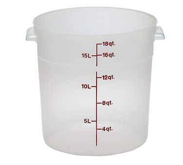 Food Storage Container, Round
