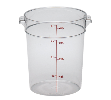 RFSCW4135 Cambro - ROUND 4QT CW-CLRCW