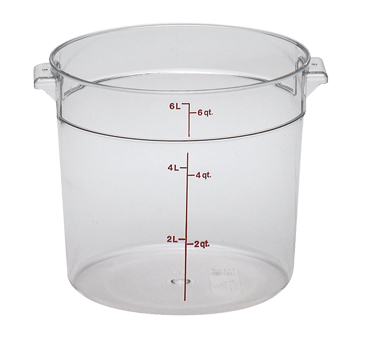 RFSCW6135 Cambro - ROUND 6QT CW-CLRCW