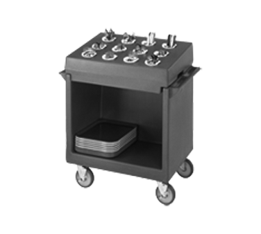 TDCR12110 Cambro - DISH/TRAY CART & RACK-BLACK