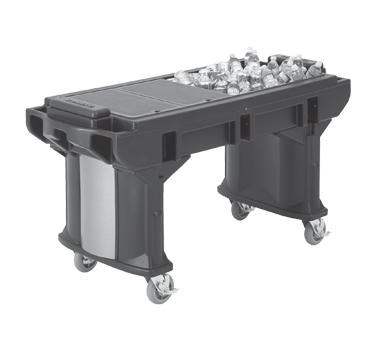 VBRTLHD5110 Cambro - 5' with Heavy Duty Casters