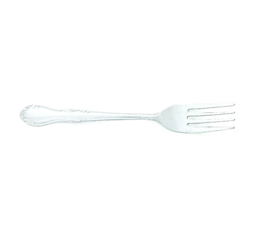 BEL702 Crestware - Dinner Fork scrolled motif pattern