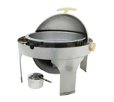 CHAELRIP Crestware - Chafing Dish Inset Food Pan round