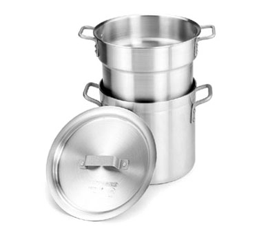 DBL08 Crestware - Double Boiler 8 qt. stock pot