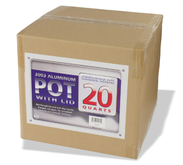 POT20R Crestware - Stock Pot 20 qt.